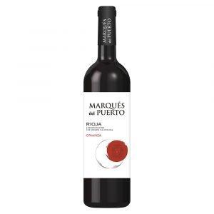 Marques del puerto crianza de Rioja