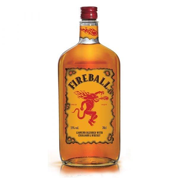 Fireball Cinnamon Whisky de Canadá