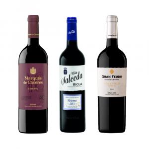 Vinos tintos reserva de Rioja y Navarra